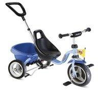 Puky Tricicleta cu maner CAT 1 S albastru
