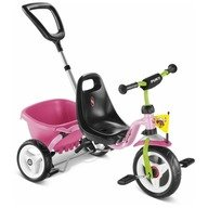 Puky Tricicleta cu maner roz