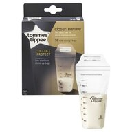 Tommee Tippee - Pungi de stocare lapte matern Closer to Nature, 36 buc