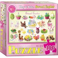 Puzzle 100 piese Sweet Easter