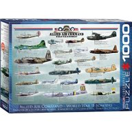Puzzle 1000 piese Allied Air Command World War II Bombers