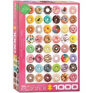 Puzzle 1000 piese Donuts Tops