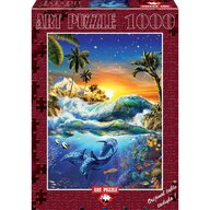 Puzzle 1000 piese, HAWAIIAN DAWN