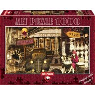 Puzzle 1000 piese, STREETS OF PARIS