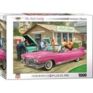 Puzzle 1000 piese The Pink Caddy, Nestor Taylor