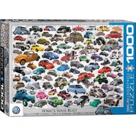 Puzzle 1000 piese VW Beetle, What's your Bug?