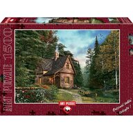 Puzzle 1500 piese, WOODLAND COTTAGE