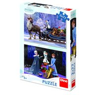 Dino Toys - Puzzle 2 in 1 Frozen 77 piese
