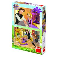 Dino Toys - Puzzle 2 in 1 Tangled 77 piese