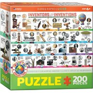Puzzle 200 piese Great Inventions