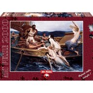Puzzle 2000 piese Ulysses And The Sirens, H. JAMES DRAPER