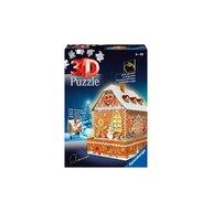 Ravensburger - Puzzle 3D Casa turta dulce Puzzle Copii, piese 216