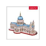 CUBICFUN - Puzzle 3D Catedrala St. Paul Nivel complex Puzzle Copii, piese 643