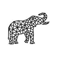 EWA - Puzzle din lemn Elephant , Puzzle Copii , Decorativ 3D, piese 364