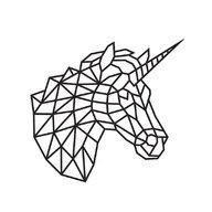 EWA - Puzzle din lemn Unicorn , Puzzle Copii , Decorativ 3D, piese 265