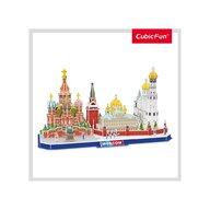CUBICFUN - Puzzle 3D Moscova Puzzle Copii, piese 204