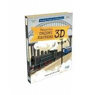 Sassi - Puzzle 3D Orient Express Puzzle Copii, pcs  60