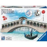 Ravensburger - Puzzle 3D Podul Rialto, 216 piese