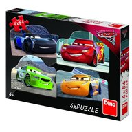 Dino Toys - Puzzle 4 in 1 Cars 3 (54 piese)