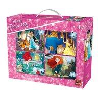 Puzzle 4in1 4 Princesses