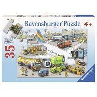 Ravensburger - Puzzle Aeroport ocupat, 35 piese