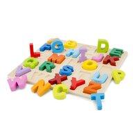 New Classic Toys - Puzzle Alfabet, Litere mari