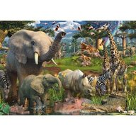 Ravensburger - Puzzle Animale in salbaticie, 18000 piese