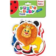 Roter Kafer - Puzzle Bebe Animale de la Zoo, 18 piese  RK1102-04