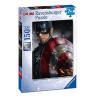 Ravensburger - Puzzle Capitanul America, 150 piese