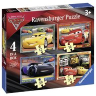 Ravensburger - Puzzle Cars, 12/16/20/24 piese