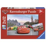 Ravensburger - Puzzle Cars, 2x12 piese