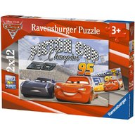 Ravensburger - Puzzle Cars 2x12 piese
