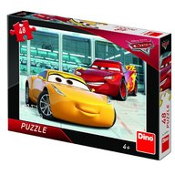 Dino Toys - Puzzle Cars 3 (48 piese)