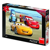 Dino Toys - Puzzle Cars 3 la mare 24 piese