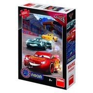 Dino Toys - Puzzle Cars 3 Neon 100XL