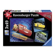 Ravensburger - Puzzle Cars, 3x49 piese