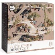 Londji - Puzzle peisaje Lumea , Puzzle Copii , Circular, piese 500