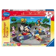 Ravensburger - Puzzle Clubul amuzant a lui Disney, 100 piese