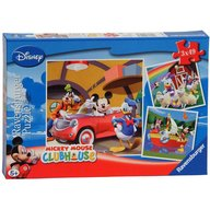 Ravensburger - Puzzle Clubul Mickey Mouse , 3x49 piese