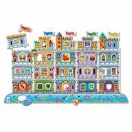 THE LEARNING JOURNEY - Puzzle educativ Creaza-ti propriul castel Puzzle Copii, piese 60