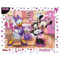 Dino Toys - Puzzle cu rama Minnie 40 piese