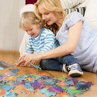 Mideer - Puzzle Cutie cadou - Epoca dinozaurilor, 104 piese  MD3026