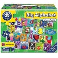 Orchard Toys - Puzzle de podea in limba engleza Invata alfabetul, 26 piese, poster inclus