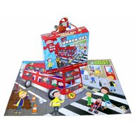 Grafix - Puzzle de podea Plimbare cu autobuzul 45 piese
