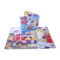 Grafix - Puzzle de podea Pompieri in actiune 45 piese