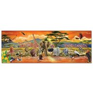 Melissa & Doug Puzzle De Podea Safari  100 piese