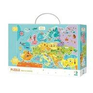 Dodo - Puzzle - Descopera Europa (100 piese)