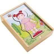 Haba - Puzzle din lemn, Hainele preferate ale lui Lilli, 18 luni+