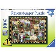 Ravensburger - Puzzle Dinozaur, 100 piese