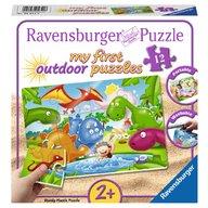 Ravensburger - Puzzle Dinozauri, 12 piese